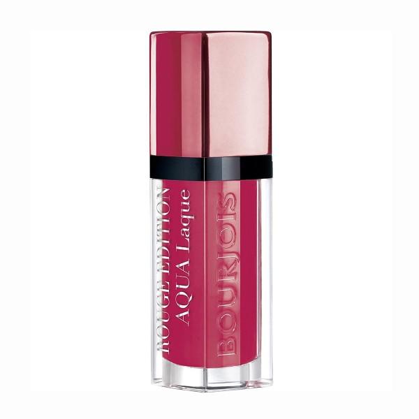 Bourjois rouge edition aqua laque lipstick 07 fuchsia perche