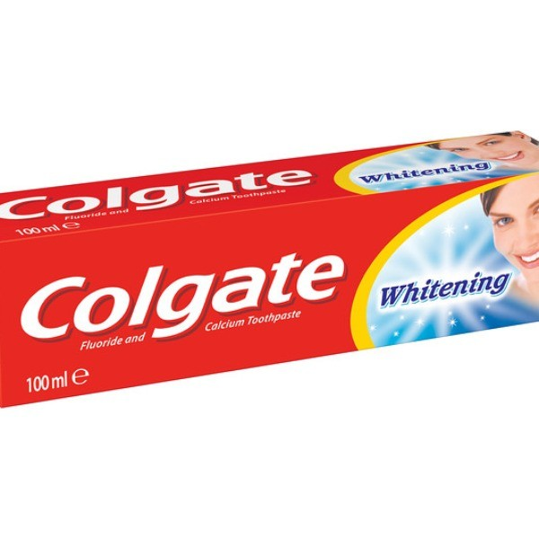Colgate whitening dentifrico 100ml