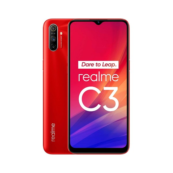 Realme c3 rojo vivo 4g dual sim 6.5'' ips hd+/8core/64gb/3gb ram/12+2+2mp/5mp