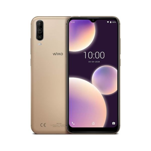 Wiko view4 lite deep gold móvil 4g dual sim 6.52'' ips hd+/8core/32gb/2gb ram/13+2+5mp/5mp