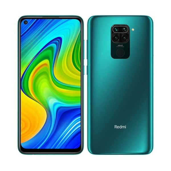 Xiaomi redmi note 9 verde bosque móvil 4g dual sim 6.53'' ips fhd+/8core/64gb/3gb/48+8+2+2mp/13mp