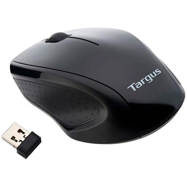 Targus amw060eu negro ratón óptico inalámbrico usb 3 botones 1600 dpi