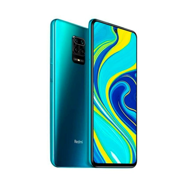 Xiaomi redmi note 9s azul móvil 4g dual sim 6.67'' fhd+ octacore 64gb 4gb ram quadcam 48mp selfies 16mp