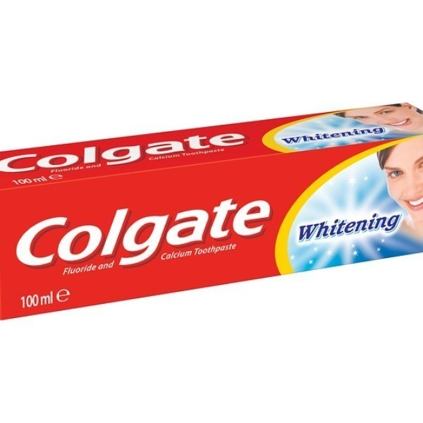 Colgate whitening dentifrico 100ml