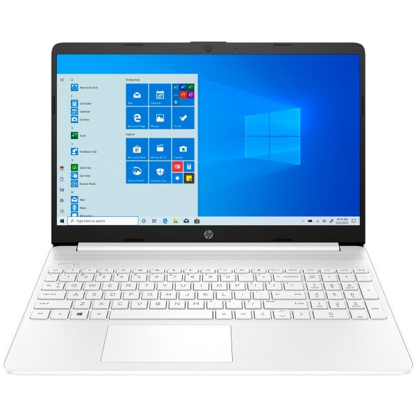 "Hp laptop 15s-eq1098ns portátil blanco 15.6"" full hd / ryzen 5-4500u / 8gb / 512gb ssd / windows"